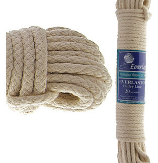 Cotton Covered Pulley Lines