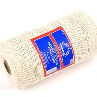 No.1 (2mm) Natural Cotton Piping Cords