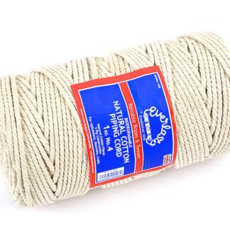 No.4 (4mm) Natural Cotton Piping Cords
