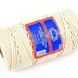 No.5 (5mm) Natural Cotton Piping Cords