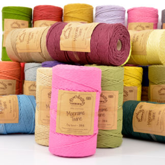 Coloured Macrame Twine