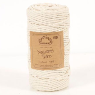 Practical 2//3//4//5mm Natural Beige Cotton Twisted Cord Rope Macrame String Craft
