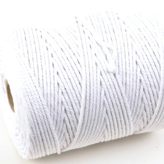No.1 (2mm) Bleached Cotton Piping Cord