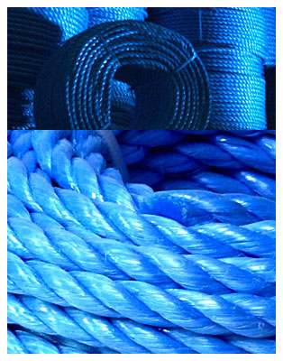 5mm Blue Polypropylene Rope