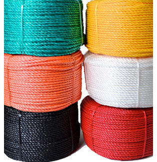 6mm Coloured Polypropylene Rope