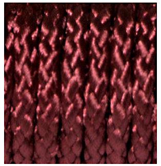 Braided Polyester Cord Burgundy