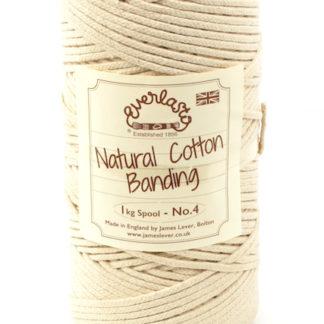 No.4 4mm Cotton Piping Banding Cord