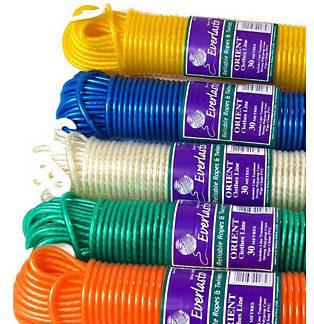 Orient Coloured PVC Clothes Line