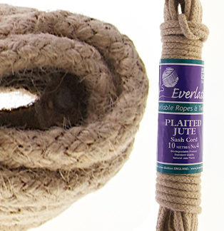 No.4 (6mm) Jute Sash Cord