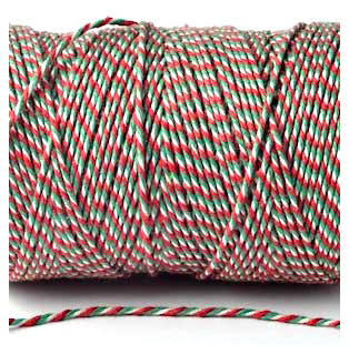 Tri-Colour Bakers Twine