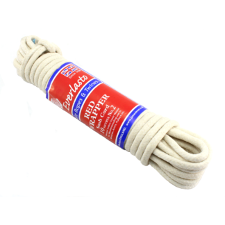 Red Wrapper Waxed Sash Cord