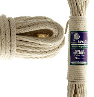 Solid Braid Cotton Pulley Lines