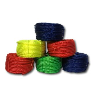 Polyethylene Coloured Rope Coils