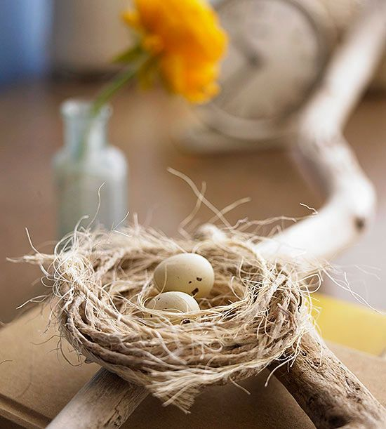 Twine nest crafts
