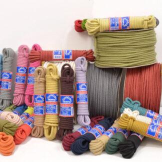 Coloured Cotton Braids
